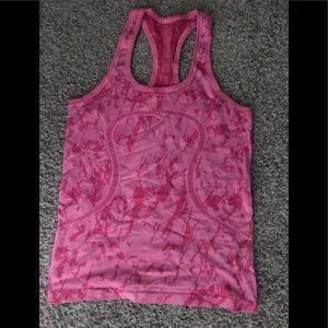 Lulu pink halter top